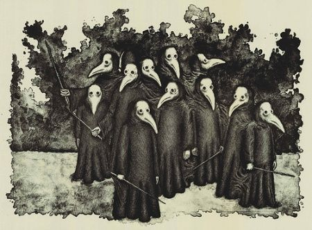 short history of the bubonic plague The black death pandemic is historically known for decimating the european  ​ the black death: the great mortality of 13481350: a brief history with.