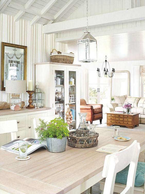 Living comedor decoracion ideas y estilos - Salon comedor con estilo ...