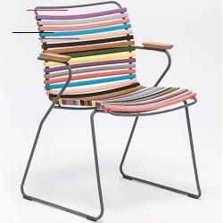 Stoelen Der Houe Click Stuhl Mit Armlehne Ist Ein Ungewohnlicher Stuhl Fur Drinnen Und Draussen Mit
