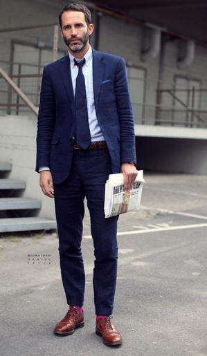 Pinterest le catalogue d 39 id es - Quelle couleur avec pantalon bleu marine ...