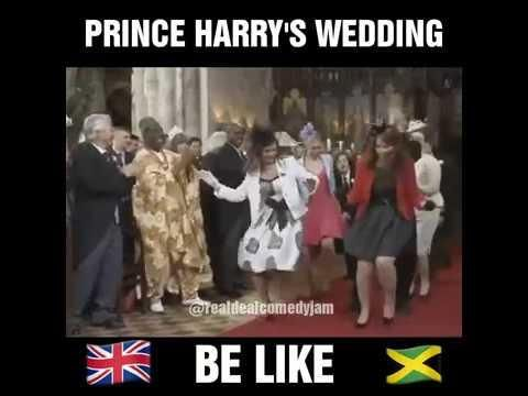 Prince Harry And Meghan Markle Dancing At The Royal Wedding Meme Lol Subscribe If You Like Wedding Meme Royal Wedding Themes Prince Harry