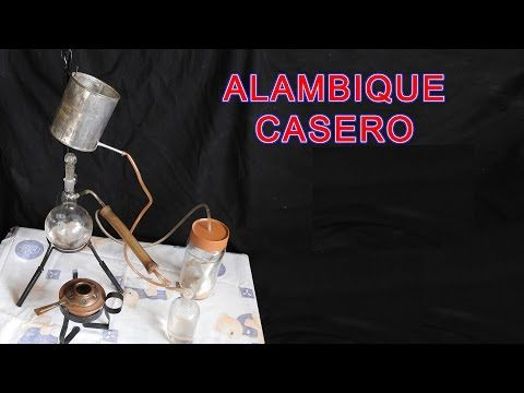 ALAMBIQUE, DESTILACIÓN DE LÍQUIDOS,
