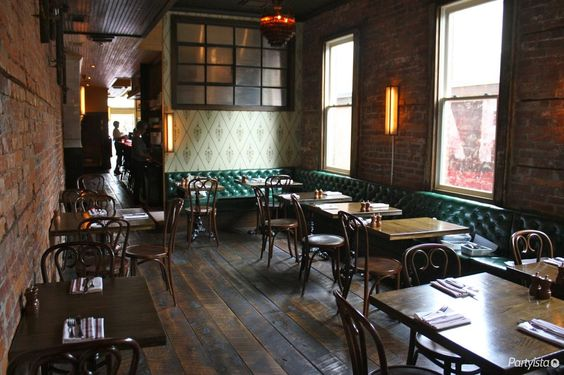 Beuchert's Saloon | This is the whole dining room that you could reserve for your rehearsal dinner | www.partyista.com