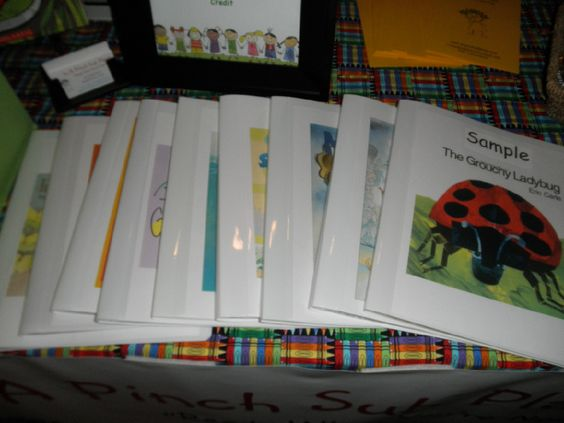 Emergency Sub plan kits! A whole day's worth of plans based around a book. What a genius idea!