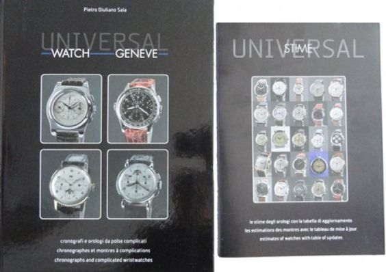 Universal Watch Geneve Book by Pietro Giuliano Sala from Baer & Bosch Auctioneers.