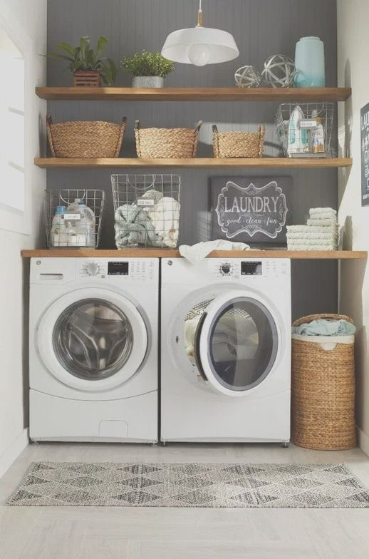 48 Brilliant Laundry Room Ideas For Small Spaces Practical Ikea Laundry Room Laundry Room Ideas Small Space Small Laundry Rooms