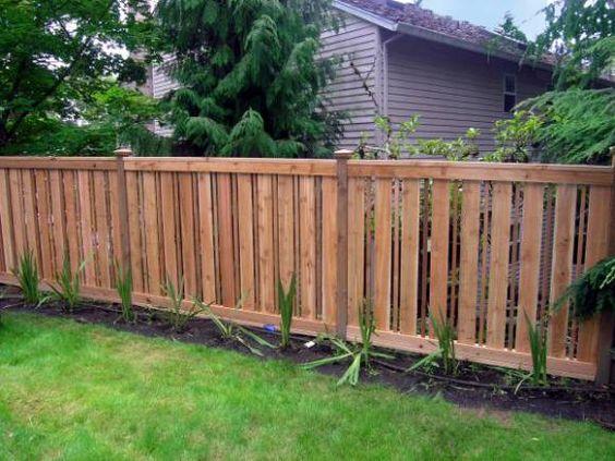 fence designs Tags cedar fence , custom fence design , fence - cercas para jardin