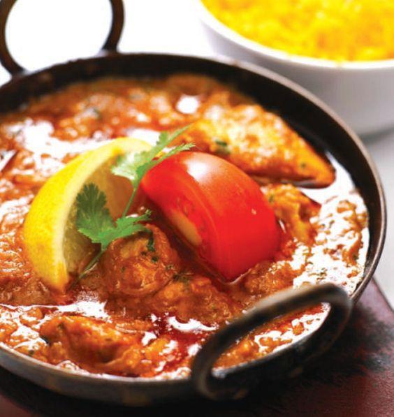 Chicken Bhuna, favourite Indian curry.
