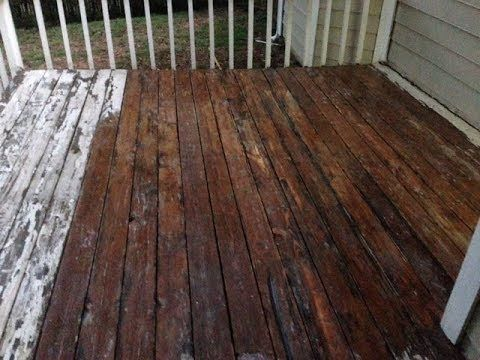 How To Remove Deck Paint To Re Stain Your Deck Deck Paint