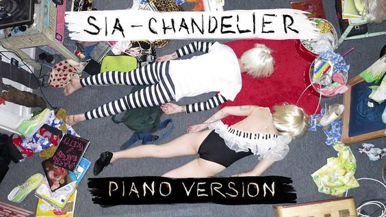 Sia - Chandelier [PIANO VERSION] [i love this version so much. she ...
