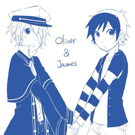 Vocaloid Oliver And James Human