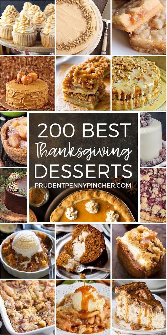 200 Best Thanksgiving Desserts