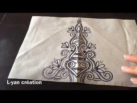 مجموعة من الرشمات الرايعة بالعقيق والطرز المسوس الطرز الرباطي Youtube Tableware Napkins Creation