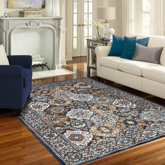 The Levant Sapphire Rug From Karastans Spice Market Collection A