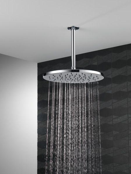 12 Luxurious Round Raincan Shower Head Shower Heads Rain Shower Head Ceiling Rain Shower Head
