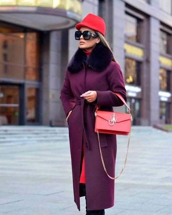 Благородный цвет, который сделает ваш осенне-зимний образ королевским   Новости моды