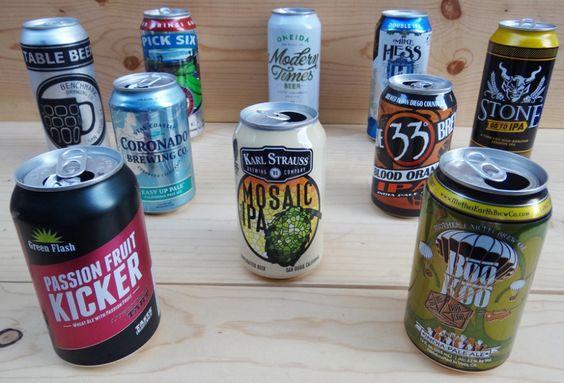 San Diego Summer Craft Cans