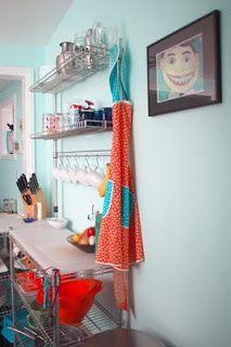 A Arte de Organizar: Pendurando xícaras e canecas