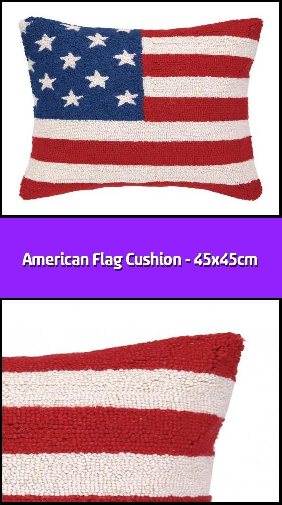 American Flag Cushion 45x45cm In 2020 American Flag Classic Color Palette Flag Design