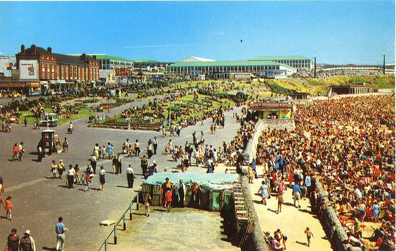 Barry Island in the 60s, a great place to be.