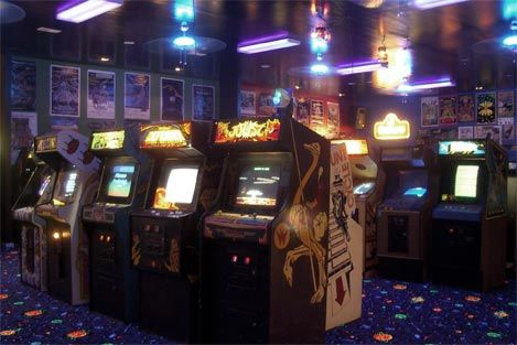 """Gotta pocket full of quarters and I'm headin' to the Arcade..."""