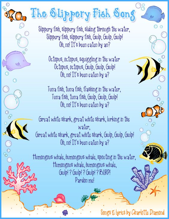 Slippery Fish Annemarie Loves This Song My Bambinos