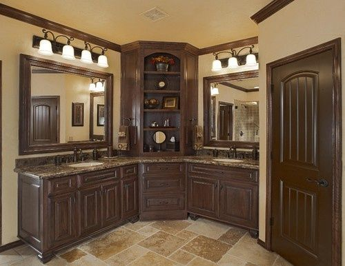 L Shaped Bathroom Cabinets Google Search Decor Pinterest Small Bathroom Vanities Colors