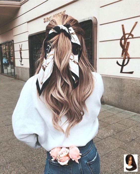 Aparência de cabelo, Lenço cabelo, Penteados com lenços, Cabelos estilosos, Ideias de penteado, Ideias de corte de cabelo, Cabelos curtos da moda