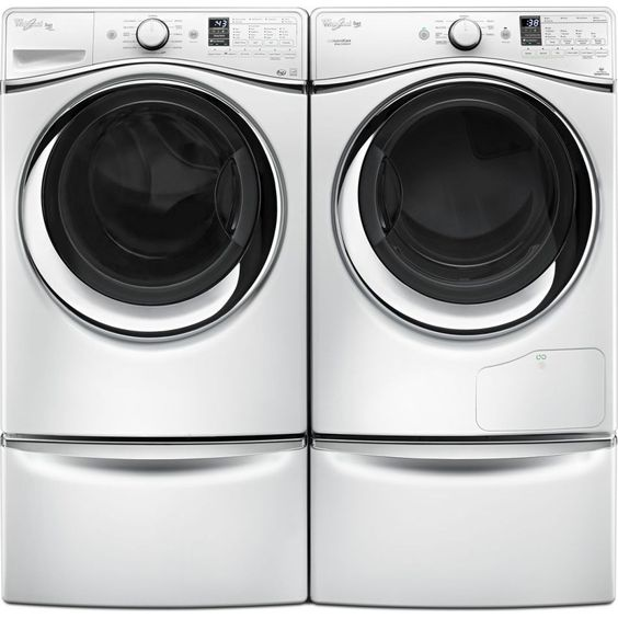 Need To Buy Pedestals For Our Whirlpool Front Load Washer