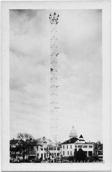 Austin S Moonlight Towers Are The Last Remaining Examples