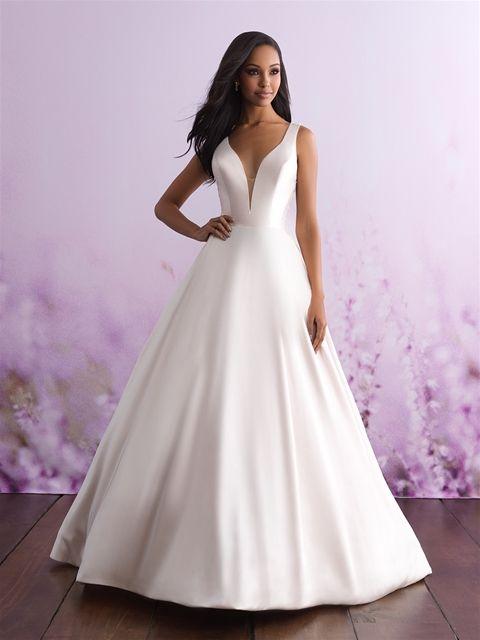 Allure 3100 Diawhite Sz 8 1225 Available At Debra S Bridal Jacksonville Fl 32256 Contact Us T Romance Wedding Dress Allure Wedding Dresses Allure Bridal