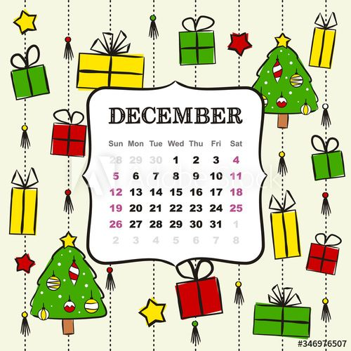 Calendar Christmas Winter December 2021 Thematic Template For A Calendar For 2021 The Month Of December Design For The Calendar O In 2021 Christmas Tree With Gifts Elegant Christmas Trees Elegant Christmas
