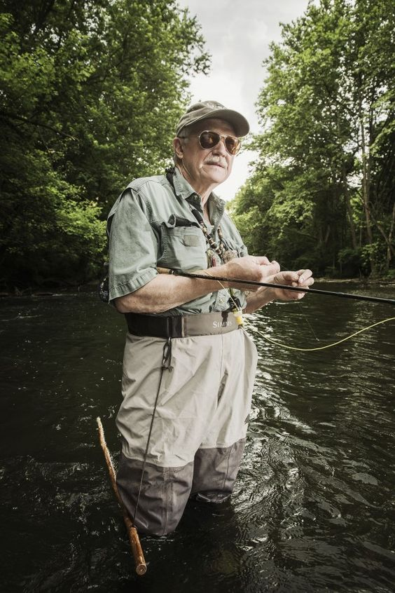 cc2014027 - Conservationist and Fisherman Bill Anderson photogra