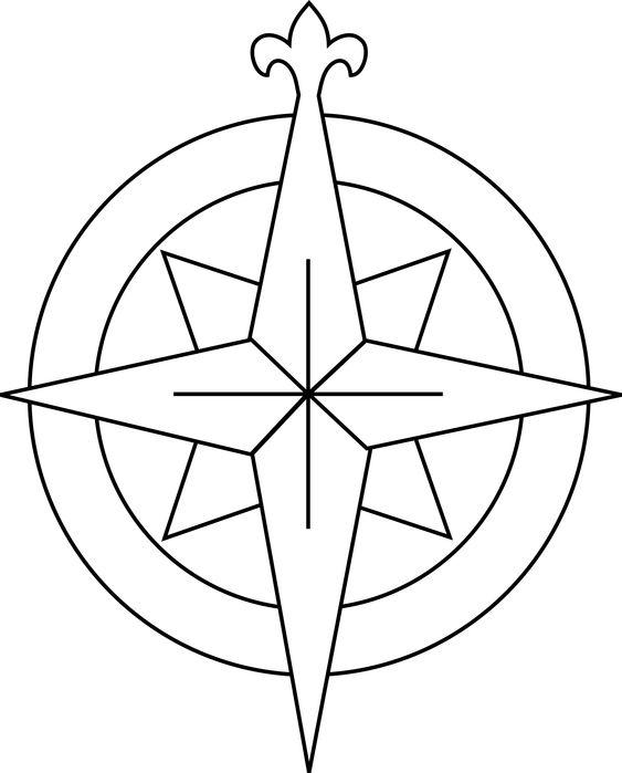 Glass Compass Rose Patterns : Compass rose pattern pinterest