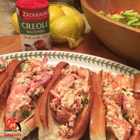 lobster meat, mayo and Creole Seasoning for some killer lobster rolls ...