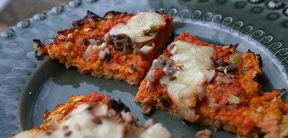 Edu's Pantry: Pizza de Batata-doce