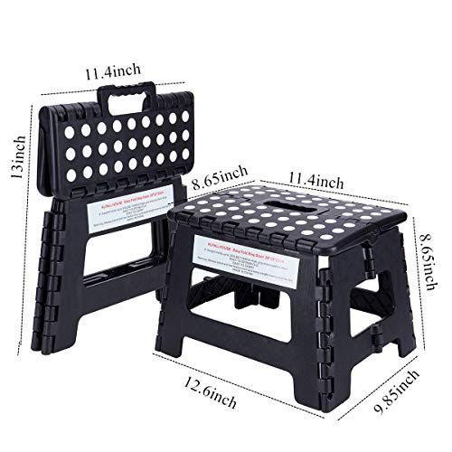 Klfall Premium Non Slip Strong Folding Step Stool For Kid Https Www Amazon Com Dp B07h2wdwpn Ref Cm Sw R Pi With Images Folding Step Stool Step Stool Kids Step Stool