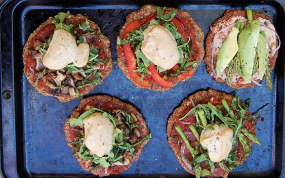 <p>Made with walnuts, polenta, flaxeed meal, cauliflower, garlic, and seasoning, this crust is a wholesome and uniquely energizing alternative to bread for your pizza! </p>