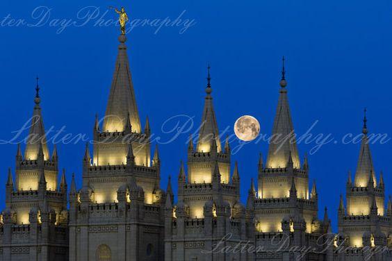 Salt Lake City Temple  Fine Art by LatterDayPhotography - Niel Hayes on Etsy, $29.99