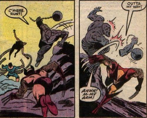 Image result for Secret Wars 1984 wolverine absorbing man
