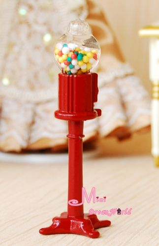 find more doll houses information about dollhouse miniature glass colorful candy vending machine fs18high quality machine timerchina machine price aliexpresscom buy 112 diy miniature doll house