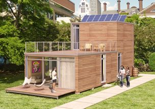 Shipping containers world and footprint on pinterest - Meka shipping container homes ...