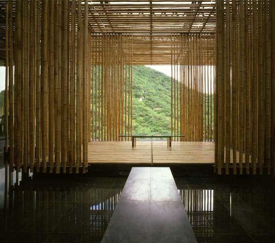 Great Bamboo Wall House - Kengo Kuma