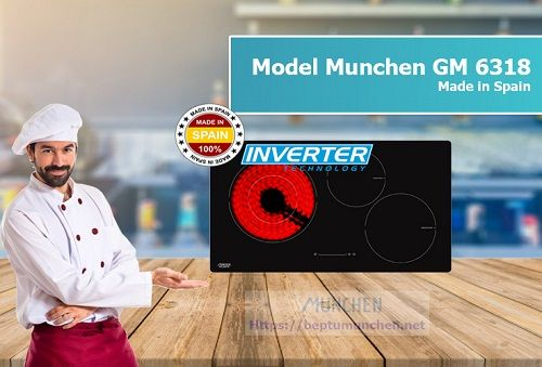 Bếp điện từ Munchen GM 6318 dùng có tốt không