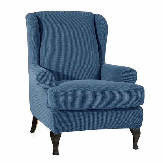 T Cushion Wingback Slipcover Slipcovers For Chairs Wingback Chair Slipcovers Fabric Sofa Cover