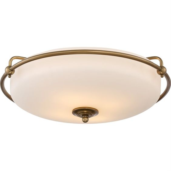 Griffin Flush Mount Large Ceiling Light GF1621WS Free Shipping!!! by NorthupGallery