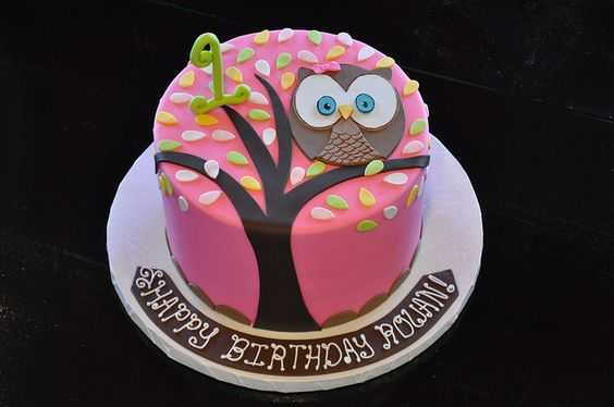 Coruja. Little Owl Cake