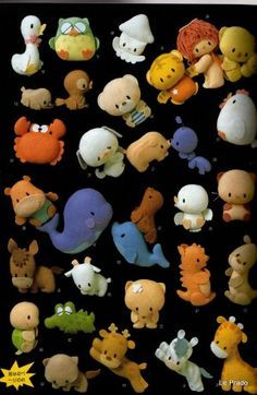 Monsters Puppets Felt Patterns Free | PATTERNS FOR SEWING ANIMALS « Free Patterns