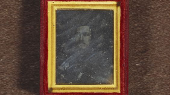 Daguerreotype of Prince Albert (1819-1861), by William Constable (1783-1861). This photograph was the first to be taken of a member of the British Royal Family.