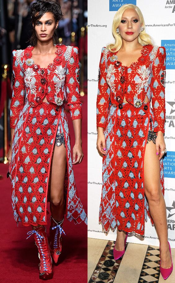Lady Gaga from Runway to Red Carpet! Celebs That Have Already Scored Spring 2016 Looks   E! Online